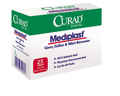 2-Curad-Mediplast-(25-Pads)-Corn,-Callus,-and-Wart-Remover
